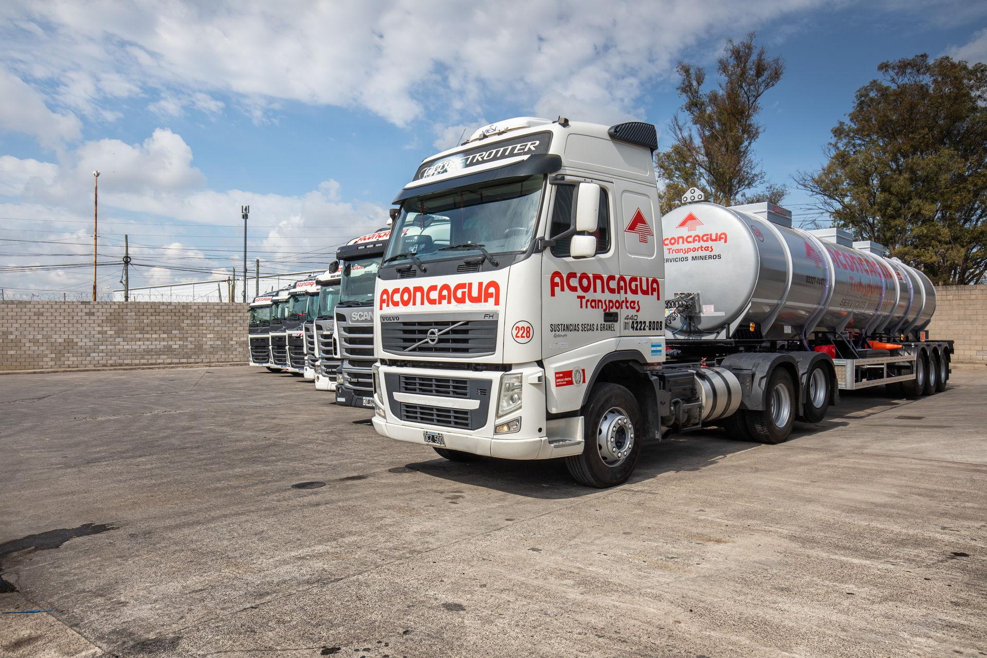 Biodiésel al 100% en los camiones.